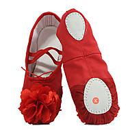 Na míru-Dětské-Taneční boty-Balet-Kanvas-Rovná podrážka-Černá / Růžová / Červená / Bílá