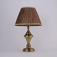 5 מסורתי\קלאסי מנורת שולחן עבודה , מאפיין ל לד , עם גלוון להשתמש מתג On/Off החלף