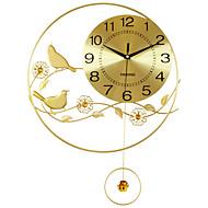 Μοντέρνο/Σύγχρονο Σπίτια Ρολόι τοίχου,Κυκλικό Ακρυλικό / Αλουμίνιο / Μέταλλο 55*40CM Εσωτερικό Ρολόι