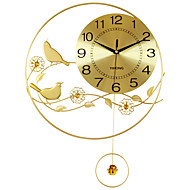 Moderne / Nutidig Huse Wall Clock,Rund Akryl / Aluminium / Metall 55*40CM Innendørs Klokke