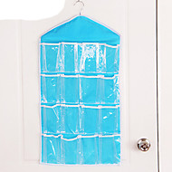 Door Wardrobe  Hanging Wall Hanging Type  Wardrobe Multi Layer Suspension Type  Bag Hanging Bag 16 Case  (Random Colour)