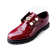 Oxford-kengätNaisten-Tekonahka-Musta / Punainen-Rento-Comfort