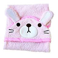 cães de limpeza de algodão cor de rosa banho 1ps toalha