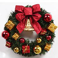 gyldne jul buer gave poser klokke kranse julepynt 50cm