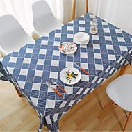 Obdélníkový Se vzorem / Pruhovaný Ubrusy , Lněný Materiál Hotel Jídelní stůl / Tabulka Dceoration