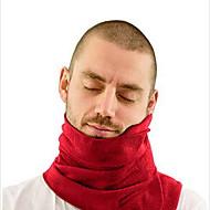 Travesseiro de Viagem Respirabilidade Antibacteriano Sem Eletricidade Estática para Descanso em ViagensPreto Cinzento Vermelho