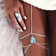 여성 발찌/팔찌 합금 유럽의 드롭 보석류 제품 결혼식 일상 캐쥬얼 비치