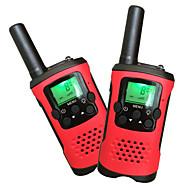 enfants Talkies-walkies 22 canaux et écran LCD rétro-éclairé (jusqu'à 6 km dans les zones ouvertes) talkies-walkies pour les enfants (1