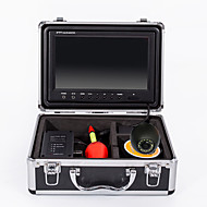 HD  9 inch LCD Monitor Underwater Fishing Camera 50M Cable 12pcs Led Lamps Fish Finder HD Fishing Camera752-50