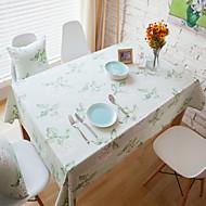 Rectangulaire Avec motifs Nappes de table , Coton mélangé Matériel Hotel Dining Table Tableau Dceoration