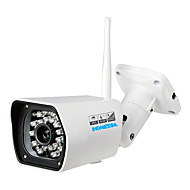 HOMEDIA® Outdoor Full HD 2.0 Mega Waterproof 1080p 6mm 1/2.7'' CMOS Wifi IP Camera P2P 24Leds IR Night Vision Mobile View