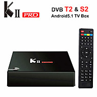 Kii pro Amlogic S905 android 5.1 caixa de smart tv 2g ram 16g rom Core HD quad