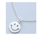 Dámské Náhrdelníky s přívěšky Stříbro Kruhy minimalistický styl Šperky Denní Ležérní 1ks