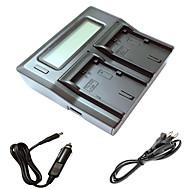 ismartdigi lpe6 LCD dual laturi auton latausjohto Canon 5D2 5d3 6d 7d 7D2 60d 70d kamera batterys
