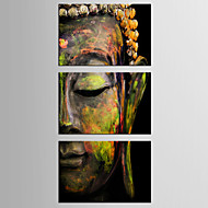 Canvas Set People Classic / Traditional,Three Panels Canvas Horizontal Print Wall Decor For Home Decoration