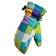 Luvas de esqui Dedo Total Mulheres / Homens Luvas Esportivas Prova de Neve Luvas Snowboard Poliéster