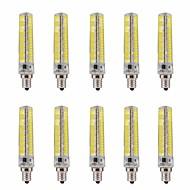 15W E12 LED corn žárovky T 136 SMD 5730 1200-1400 lm Teplá bílá / Chladná bílá Stmívací / Ozdobné V 10 ks