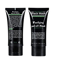 흡입 블랙 마스크 딥 클렌징 얼굴 마스크 검은 머리 찢어 스타일 딸기 코 여드름 제거 여드름 진흙 마스크에 저항