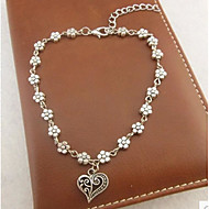 Women's Anklet/Bracelet Alloy Love Classic Handmade Heart Jewelry For Wedding Party