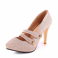 Žene Cipele na petu Proljeće Ljeto Jesen Udobne cipele Inovativne cipele Lakirana koža Umjetna kožaVjenčanje Ured i karijera Formalne