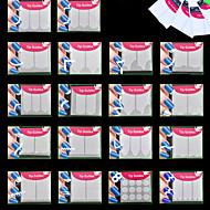 18pcs נייל ארט מדבקה לסכל קלטת עקירה סרט מצויר קוסמטיקה איפור נייל אמנות עיצוב