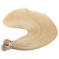 "neitsi® 20 ""1 g / s nano ring loop steil haar 100% human hair extensions 22 # onder haar tools"