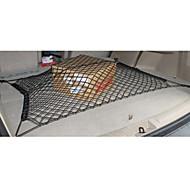 보편적 인 내구성 듀얼 레이어 네트워크 자동차 트렁크 짐 메시 저장 후방화물 그물 더블 레이어