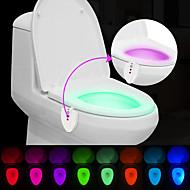 brelong aktualisiert wasserdicht UV-Sterilisationslichtsensor vom Menschen verursachten Toilette Farbwechsel Licht