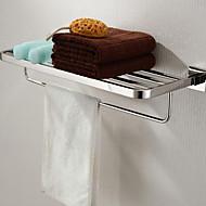 צדף לחדר האמבטיה פלדת אל חלד התקנה על הקיר 600x 220 x 120mm (23.6 x 8.66 x 4.72 פלדת אל חלד מודרני