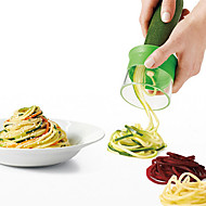 1pcs håndholdte rivjern makulere grønnsaker enhet spiral wire cutting mekanisme på kjøkkenet