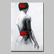 Handgeschilderde Mensen POP Olie schilderijen,Modern Eén paneel Canvas Hang-geschilderd olieverfschilderij For Huisdecoratie