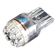 T20 7440 7441 9 LED bil Turn Signal Light Bulb lampe 0,5 W Wedge White Super Bright