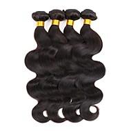 4 elementy Body wave Ludzkie włosy wyplata Włosy indyjskie 100g per bundle 8inch-28inch Ludzkich włosów rozszerzeniach