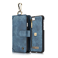 CaseMe Retro Split Leather Multi-slot Purse Case for iPhone 7 Plus 7 6S Plus 6 Plus 6 6S Leather Bag Cover