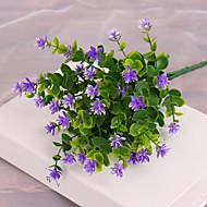 1 1 Ramo Plástico Plantas Flor de Mesa Flores artificiais 36cm