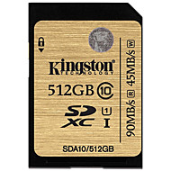 Kingston 512GB SD 카드 메모리 카드 UHS-I U1 CLASS10