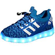 운동화-야외-남아 신발-컴포트-PU-플랫-블랙 그린 레드 네이비 블루