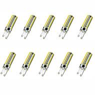 7W G9 / G4 Lâmpadas Espiga T 152LED SMD 3014 550-600LM lm Branco Quente / Branco Frio Decorativa AC110 / AC220 V 10 pçs