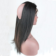 Indian Silk Straight Hair Pre Plucked 360 Lace Frontal Bands Closure Full Lace Frontals With Baby Hair