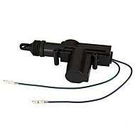 2 Universal Tunge Centrallåsesystem Aktuator Motor 2 Wire 12V