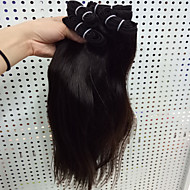 4Pcs/Lot 8-30 Brzilian Virgin Straight Hair Natural Black Human Hair Weave Hair Bundles Sale.