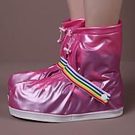 PVC pro boty pokrývá dešti odolné proti modrá / červená