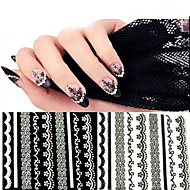 - Finger - 3D Nails Nagelaufkleber / Nail Schmuck - PVC - 10pcs Stück - 62mm*52mm cm