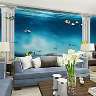 Art Deco Bakgrunn For Hjem Moderne Tapetsering , Lerret Materiale selvklebende nødvendig Mural , Room wallcovering