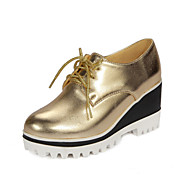 Women's Oxfords Spring Summer Fall Platform Creepers Comfort Customized Materials Leatherette Outdoor Office & Career Dress CasualWedge