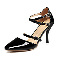 Women's Heels Spring / Summer / Fall Ankle Strap Patent Leather Wedding / Party & Evening / Dress Stiletto Heel Buckle