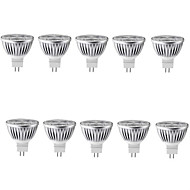 10pcs 3.5W MR16 450-5000LM Warm/Cool Light Lamp LED Spot Lights(12V)