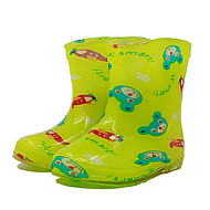 Boy's Boots Spring Summer Fall Other Comfort Rain Boots PVC Casual Flat Heel Yellow Green Pink