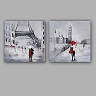 100%  Hand-Painted Abstract / People Hang-Painted Oil PaintingModern / Classic One Panel Canvas Oil Painting For Home Decoration