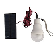 Solarlampe betriebene tragbare LED-Lampe Lampe Solarlampe Beleuchtung Solarpanel Lager Nachtfahrt führte